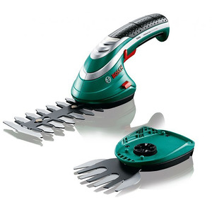 Bosch – Taille-herbes/haies ss fil Isio Set 2 lames + 2 gants