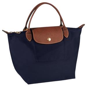 Longchamp – Sac porté main S Ligne Pliage – coloris navy