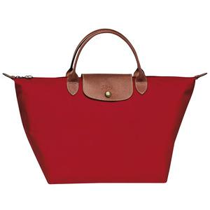 Longchamp – Sac porté main M Le Pliage Rouge
