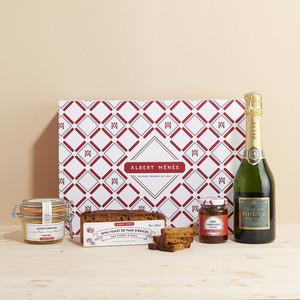 Albert Ménès – Coffret Champagne et foie gras – 3234750096069