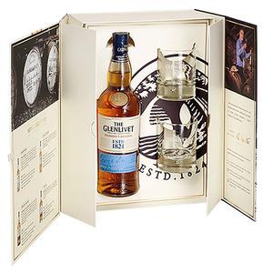 The Glenlivet – Coffret The Glenlivet Founder's Reserve + 2 verres