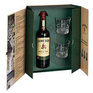Jameson – Coffret Jameson 0.7L + 2 verres – 716818