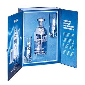 Absolut – Coffret Absolut Vodka 0.7L + 2 verres – 728193