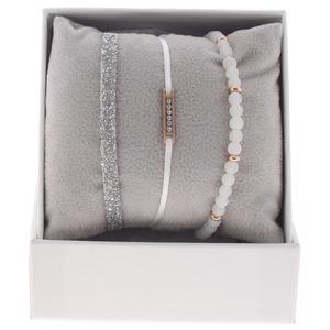 Les interchangeables – Strass Box Mini Plaque Blanc – A47872