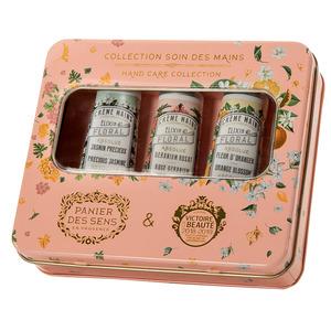 Les absolues – Tin box 3xCrème Mains 30ml Jasmin Orang Ger – ABS21001