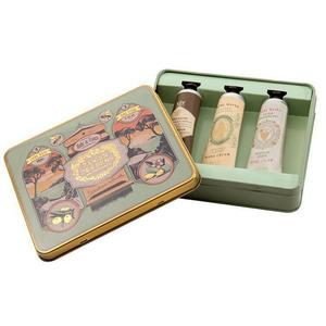 Les intemporels – Tin box 3xCrème Mains amande Miel Raisin- INT21002