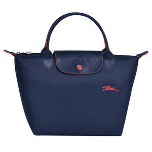 Longchamp – Sac porté main S Le Pliage Club navy – L1621619556