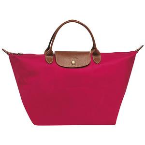 Longchamp – Sac porté main M Ligne Le Pliage – coloris garance