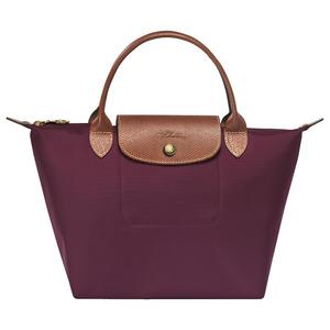 Longchamp – Sac porté main M Ligne Le Pliage – coloris prune