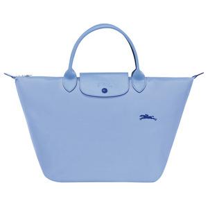 Longchamp – Sac porté main M Le Pliage Club bleu
