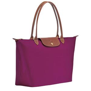 Longchamp – Sac porté épaule L Le pliage Dahlia