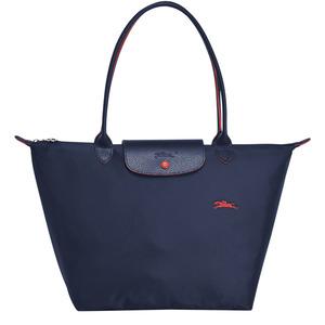 Longchamp – Sac shopping L Le Pliage Club navy – L1899619556