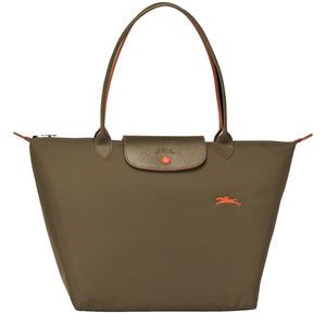 Longchamp – Sac shopping L Le Pliage Club kaki