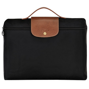 Longchamp – Porte-documents Le Pliage noir
