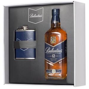 Pernod – Coffret  Ballantine's 12 ANS + flasque – PR196621