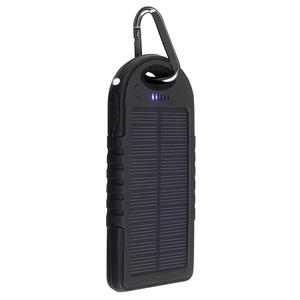 Livoo – Batterie de secours solaire noir 5000 mAh – TEA139N